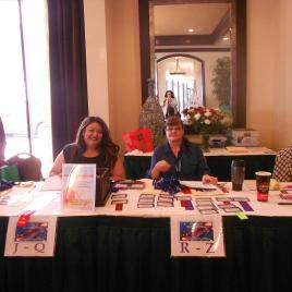 Registration Committee in action!
