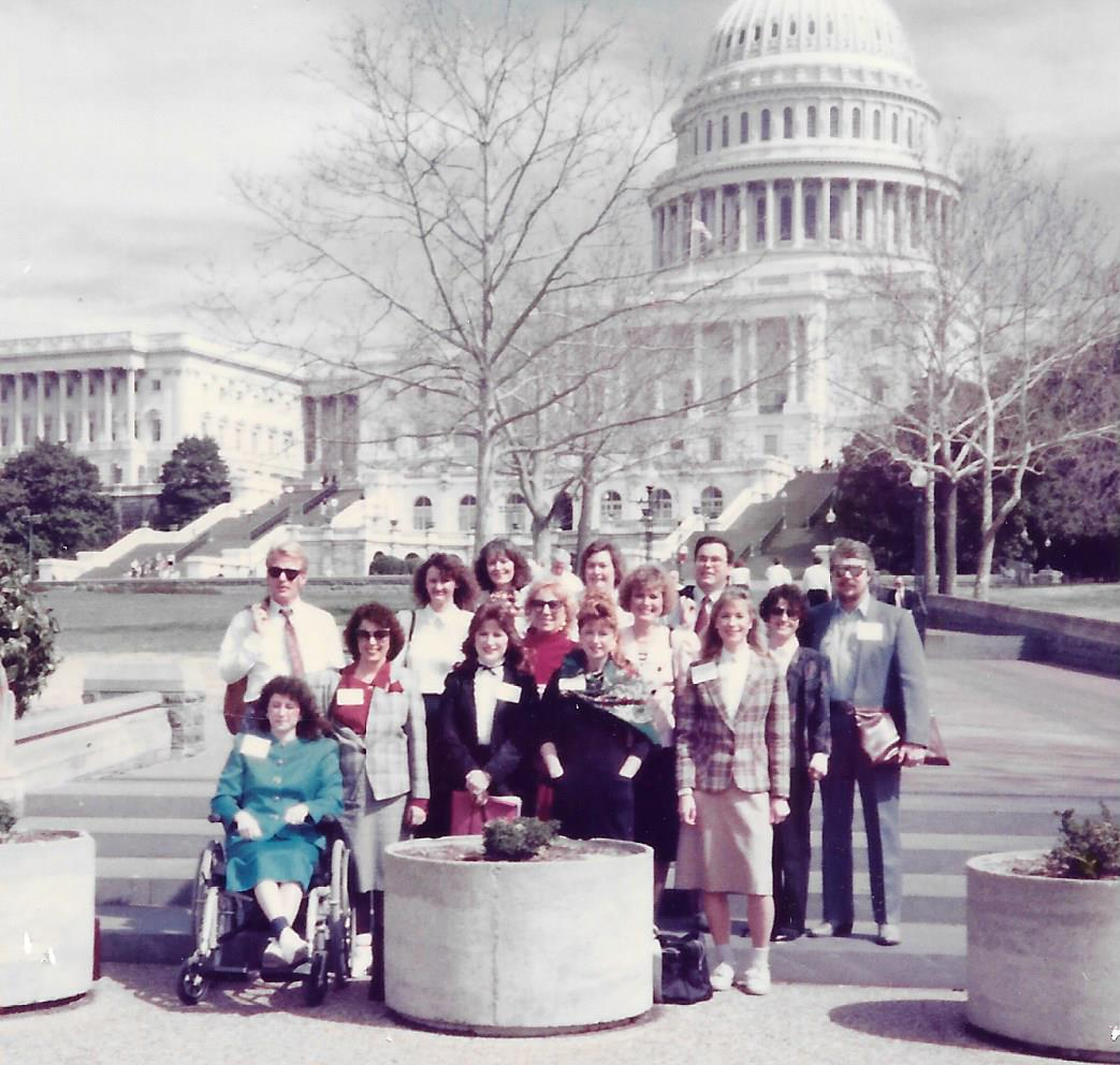 ADA 1990 Texas Delegates in  Washington