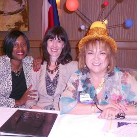 2014 Conference Speaker Panel: Veronda Durden, Cheryl Fuller, Barbara Madrigal.