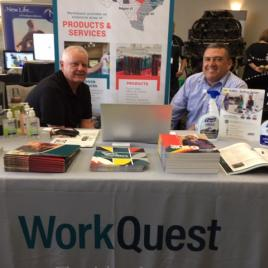 Work Quest - Vendor at TRA Conference